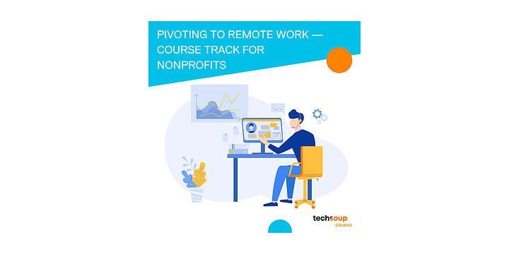 illustration for remote work course track