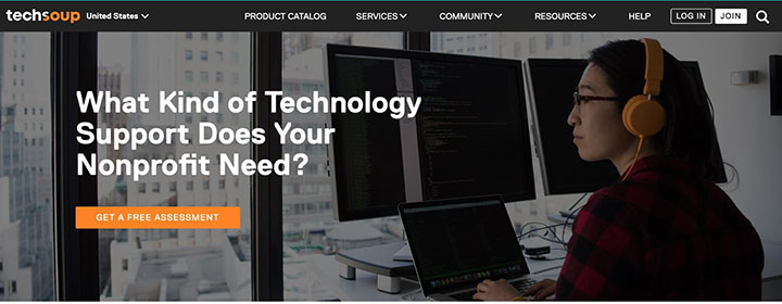 the Technology Support page