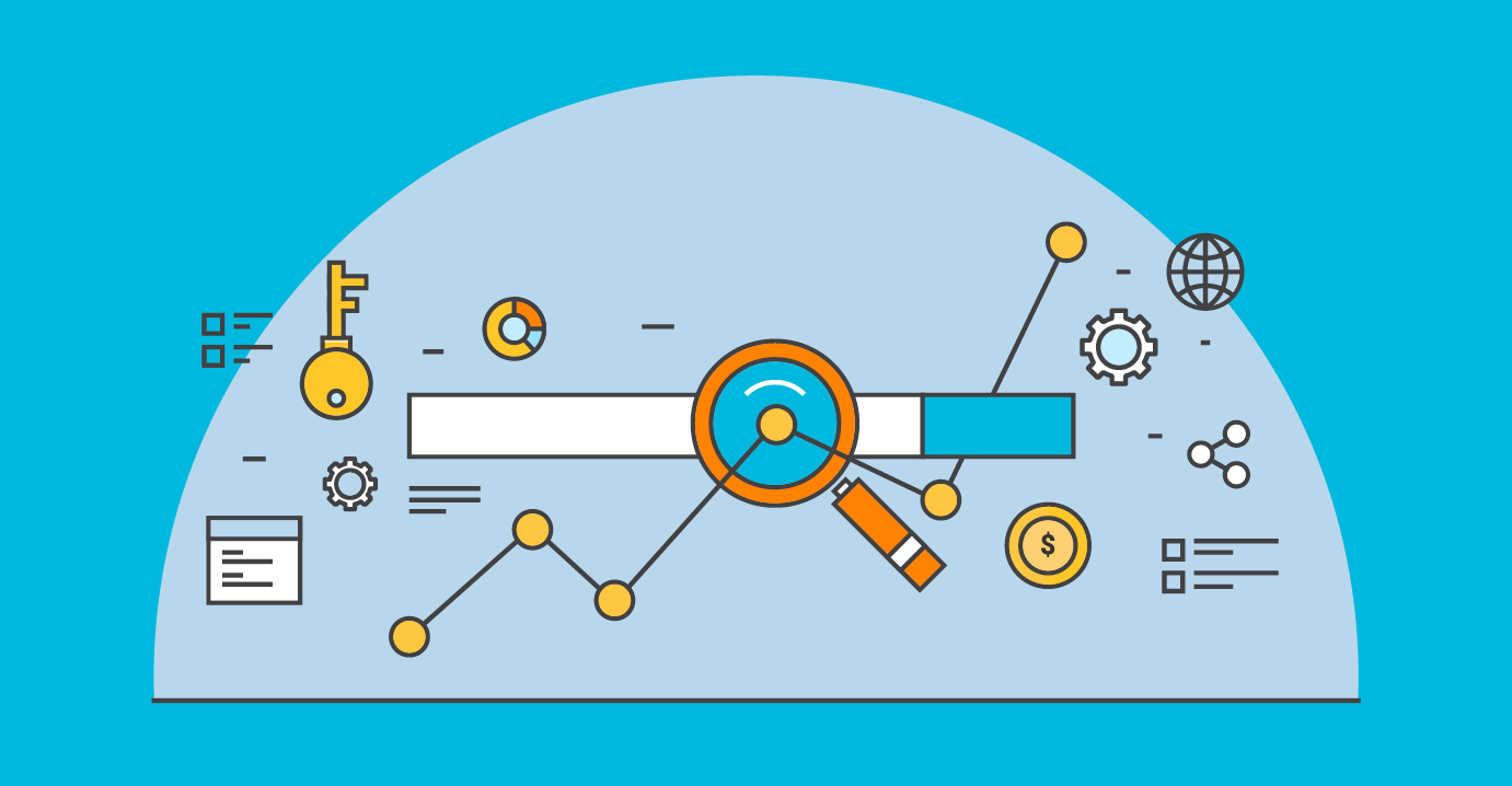 Illustration of a dashboard representing optimization of keywords to improve rankings | TechSoup