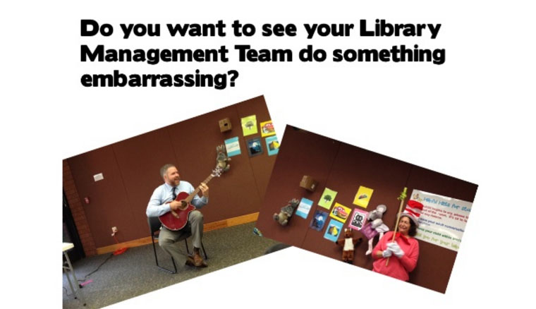 Embarrassing your management team